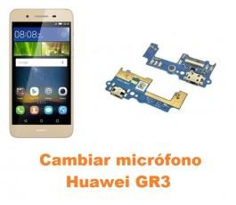 Cambiar micrófono Huawei GR3