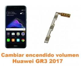 Cambiar encendido y volumen Huawei GR3 2017
