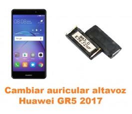 Cambiar auricular altavoz Huawei GR5 2017