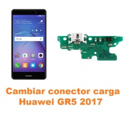 Cambiar conector carga Huawei GR5 2017