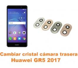 Cambiar cristal cámara trasera Huawei GR5 2017
