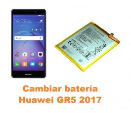 Cambiar batería Huawei GR5 2017