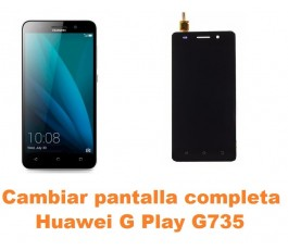 Cambiar pantalla completa Huawei G Play G735