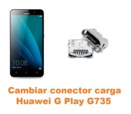 Cambiar conector carga Huawei G Play G735