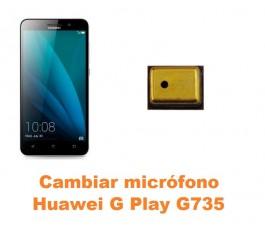 Cambiar micrófono Huawei G Play G735