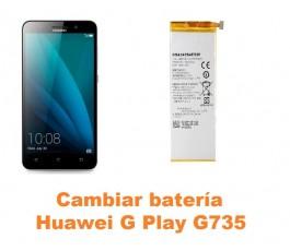 Cambiar batería Huawei G Play G735