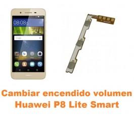 Cambiar encendido y volumen Huawei P8 Lite Smart