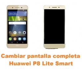 Cambiar pantalla completa Huawei P8 Lite Smart