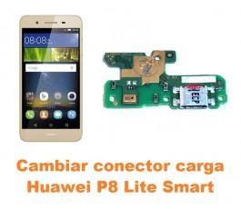 Cambiar conector carga Huawei P8 Lite Smart