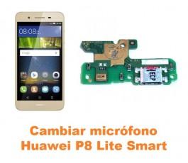 Cambiar micrófono Huawei P8 Lite Smart
