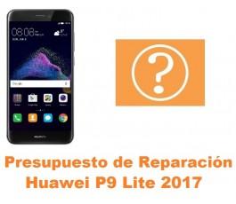 Presupuesto de reparación Huawei P9 Lite 2017