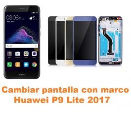 Cambiar pantalla completa con marco Huawei P9 Lite 2017