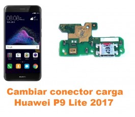 Cambiar conector carga Huawei P9 Lite 2017