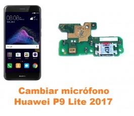 Cambiar micrófono Huawei P9 Lite 2017