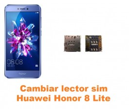 Cambiar lector sim Huawei Honor 8 Lite
