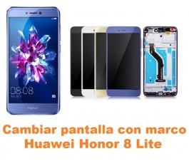 Cambiar pantalla completa con marco Huawei Honor 8 Lite