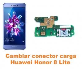 Cambiar conector carga Huawei Honor 8 Lite