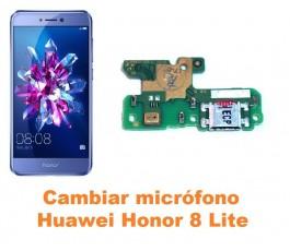 Cambiar micrófono Huawei Honor 8 Lite