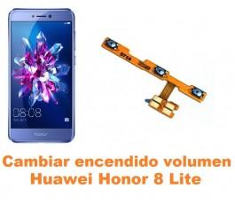 Cambiar encendido y volumen Huawei Honor 8 Lite