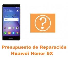 Presupuesto de reparación Huawei Honor 6X