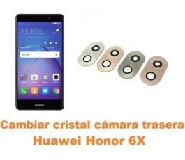 Cambiar cristal cámara trasera Huawei Honor 6X