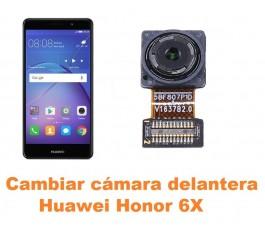 Cambiar cámara delantera Huawei Honor 6X