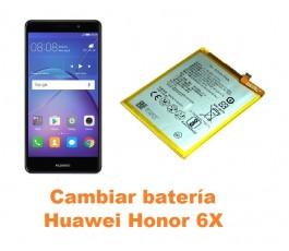 Cambiar batería Huawei Honor 6X