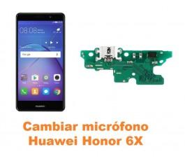 Cambiar micrófono Huawei Honor 6X