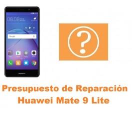 Presupuesto de reparación Huawei Mate 9 Lite