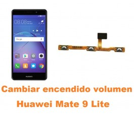 Cambiar encendido y volumen Huawei Mate 9 Lite