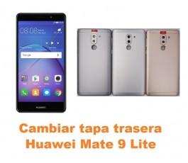 Cambiar tapa trasera Huawei Mate 9 Lite