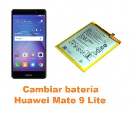 Cambiar batería Huawei Mate 9 Lite