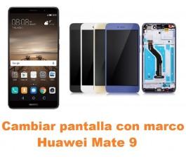 Cambiar pantalla completa con marco Huawei Mate 9