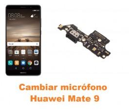 Cambiar micrófono Huawei Mate 9