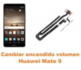 Cambiar encendido y volumen Huawei Mate 9