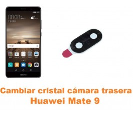 Cambiar cristal cámara trasera Huawei Mate 9