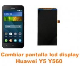 Cambiar pantalla lcd display Huawei Y5 Y560