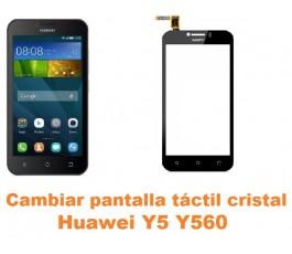 Cambiar pantalla táctil cristal Huawei Y5 Y560