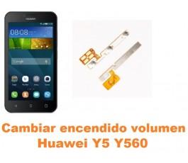 Cambiar encendido y volumen Huawei Y5 Y560