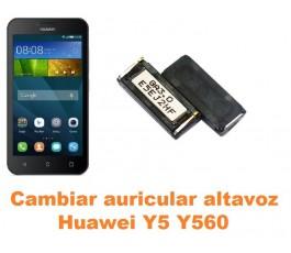 Cambiar auricular altavoz Huawei Y5 Y560