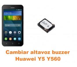 Cambiar altavoz buzzer Huawei Y5 Y560