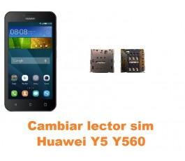 Cambiar lector sim Huawei Y5 Y560
