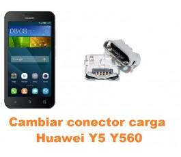 Cambiar conector carga Huawei Y5 Y560