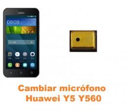 Cambiar micrófono Huawei Y5 Y560
