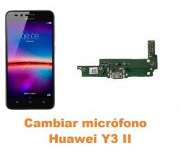 Cambiar micrófono Huawei Y3 II