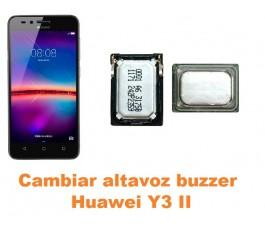 Cambiar altavoz buzzer Huawei Y3 II