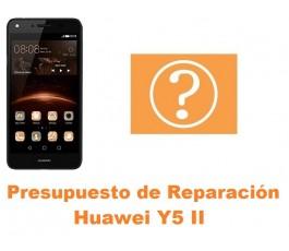 Presupuesto de reparación Huawei Y5 II