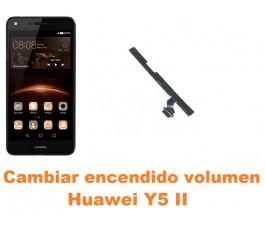 Cambiar encendido y volumen Huawei Y5 II
