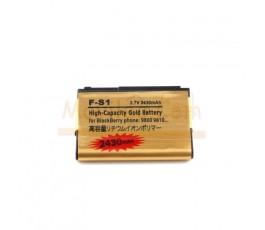 Bateria Gold de 2430mAh para BlackBerry 9800 9810 - Imagen 1