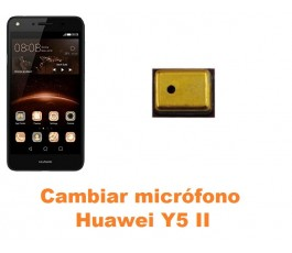 Cambiar micrófono Huawei Y5 II